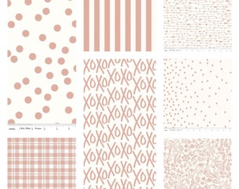 Yes Please Cream Bundle, Riley Blake Designs