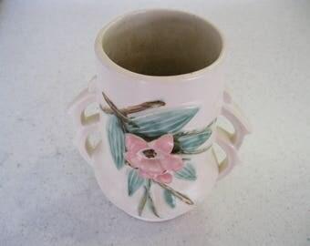 """Vintage McCoy """"Blossom Time"""" Vase"""