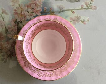 Aynsley Cabinet Teacup and Saucer
