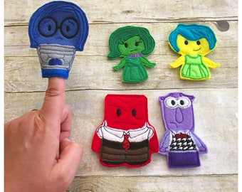 Feelings Finger Puppet Set