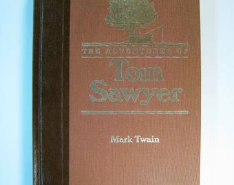 1st Ed. thus/4th Prt. The ADVENTURES of TOM SAWYER - Near Mint 1985 Hardcover