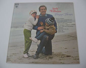 New Sealed! - Andy Williams - Happy Heart - Circa 1969