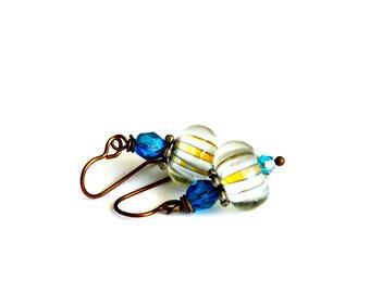 Vintage Style Earrings, Handmade Earrings, Gift Idea, Gift For Her, Wedding Earrings, Bridal Earrings, Vintage Style Jewelry, Elegant, Chic