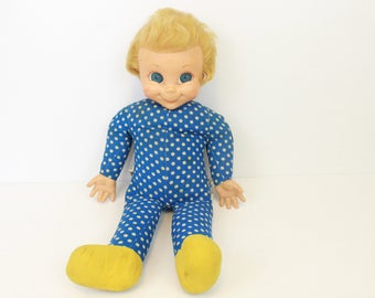 """Mattel Mrs. Beasley Doll, 1967, Family Affair Company, Made in Mexico, Vintage Doll, From TV Show Family Affair, """"Buffy's"""" Doll, 1960's"""