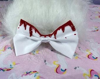 Blood Drip Bow