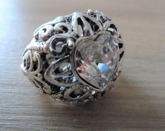 """Antique Heart"" heart ring SWAROVSKI"