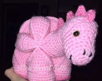 Ready to Ship Pink Dinosaur Puzzle Ball
