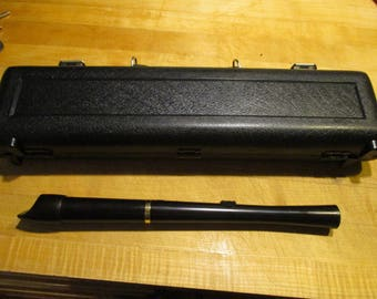 Meyer flute with case. new pads
