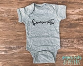 Feminist Short Sleeve Bodysuit for Girls/Boys/Babies/Kids