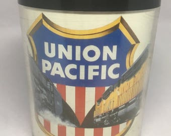 Vintage Pacific Union Mug Thermo Serv Plastic USA