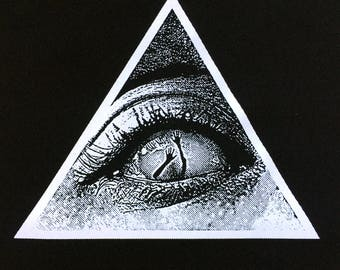 Fear in the eyes Back Patch | Patches | Punk Patches