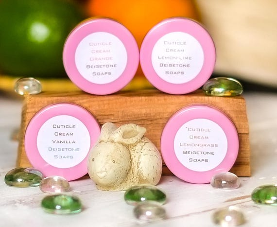 PICK 3 | POD PACK Cuticle Cream, Comes in Assortment of Lemongrass ~ Lemon-Lime ~ Orange ~ Vanilla | Mix and Match