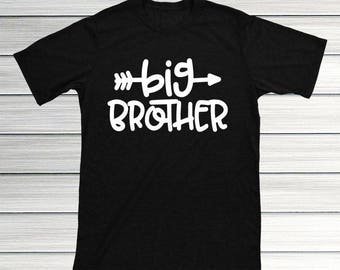 Big Brother Shirt, Big Brother Announcement Shirt, Big Brother Gift, Toddler Boy Clothes, Hipster Big Brother Shirt, I'm The Big Brother