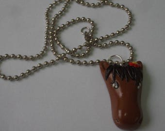 POLYMER CLAY HORSE PENDANT