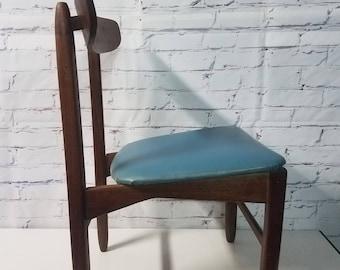 Mid Century danish style teak chair