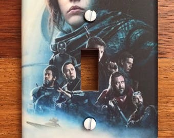 Star Wars Rogue One Light Switch Cover // SAME DAY SHIPPING**