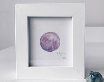 Framed Mini Moon Limited Edition Number 5/10