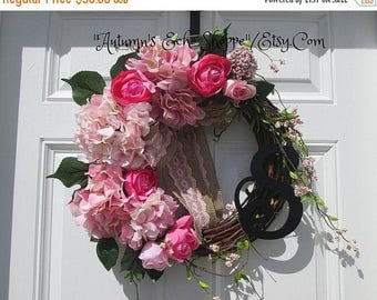 Spring Door Decor....Front Door