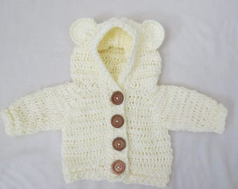 Crochet Bear Sweater