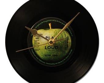 "JOHN LENNON ""INSTANT KARMA"" VINYL clock 45tours."
