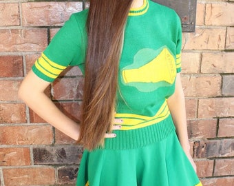 Vintage Cheerleader Uniform Etsy