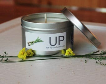 UP Natural Soy and Essential Oils Candle (Lemongrass)