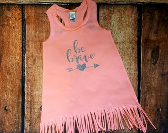 Fringe Dress with saying or monogram