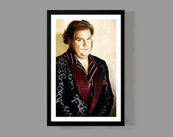 Chris Farley Poster - Classic Portrait Print - Tribute Icon Actor Legendary TV Movies Comedy Genius