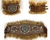 Warrior leather belt. LAR...