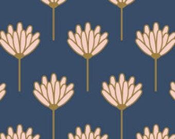 Fabric - Art gallery - Drapey viscose fabric -  Floret Sunkissed - Blush Designed By Dana Willard