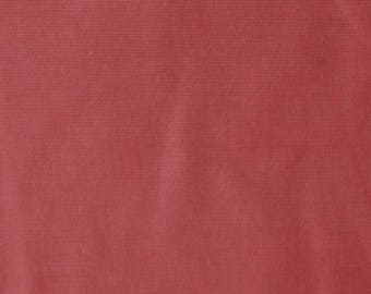 Fabric - Stretch needlecord -  terracotta - woven fabric with stretch.