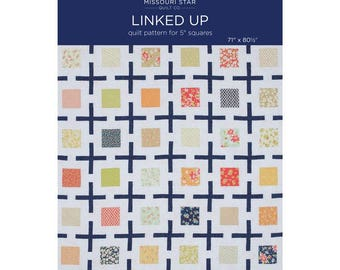 Linked Up Quilt Pattern by the Missouri Star Quilt Company