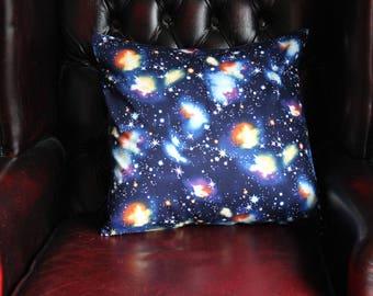 Galaxy - Super Nova - Stars - Cushion Cover