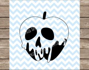 Poison Apple svg, Snow white svg, Evil Queen, Disney svg, Halloween svg, Halloween, Snow White, Fall svg, Fall, Poison Apple, svg, svg file