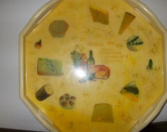 Large cheese 41 x 41 cm platter