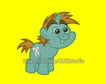 Snips My Little Pony Embroidery Design - 6 Sizes - INSTANT DOWNLOAD
