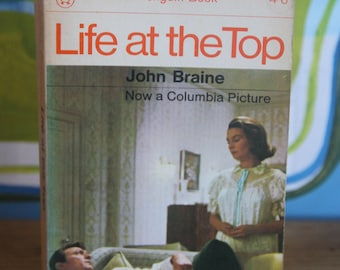 A striking  Panther paperback edition of Vintage Book Life at the Top  by John Braine 1966  Paperback