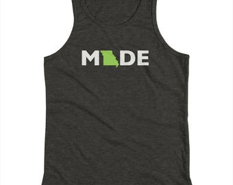 Missouri Made Kids Tank Top - Mo Made - Made in Kansas City - Kansas City Made - Landlocked - A Kansas City Company