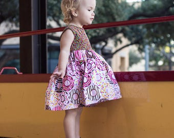 Donut Shop Girls Dress~ Party Dress~ Birthday Dress Donut Party~ Doughnut~ Girls Matching Outfits ~ Lolly ~ Sizes 6 month - 4T ~ Photo Shoot