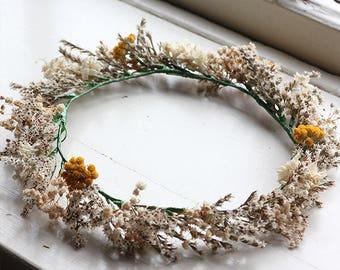 Flower Crown - Dried Flowers
