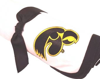 Iowa Hawkeye Baby Receiving Blanket