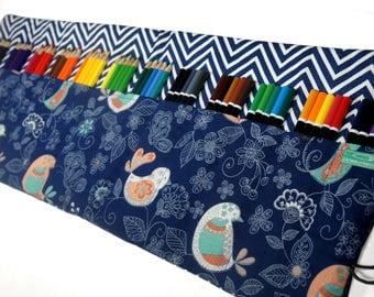 Designer Pencil Case, Holds up to 60 Color Pencils or Pens