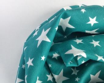 Gender Neutral Receiving Blanket, Swaddle Blanket, Star Baby Shower Gift, Gender Neutral Flannel Swaddle