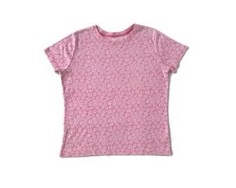 90's Grunge Floral Print T-shirt