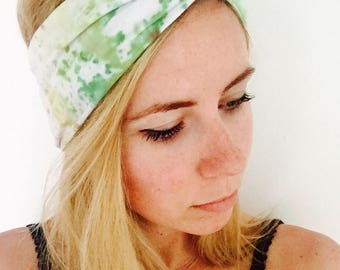 Hand-dyed Cinched Adult Headband
