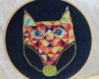 Picture-story textile Fox 1 pt
