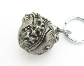 Plate Tectonic Planet Keychain - Geology keychain, Seismology, Volcanology, Earth Science, Geoscience