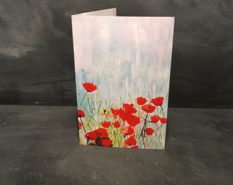 Poppies - Greeting Card