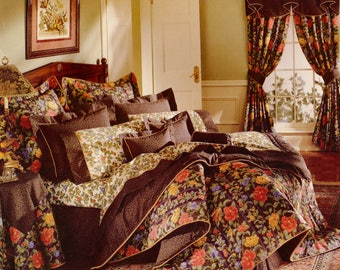new vintage cannon royal family queen flat sheet set mirabelle floral the 250 suite bed sheet