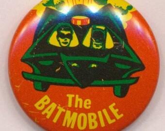 1966 The Batmobile, Batman Television Series Pinback Button